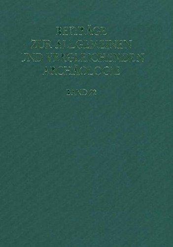 Beitraege zur Allgemeinen und Vergleichenden Archaeologie. 2001/22