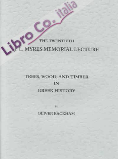 Trees, Wood and Timber in Greek History