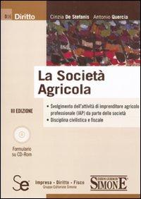 La società agricola. Con CD-ROM