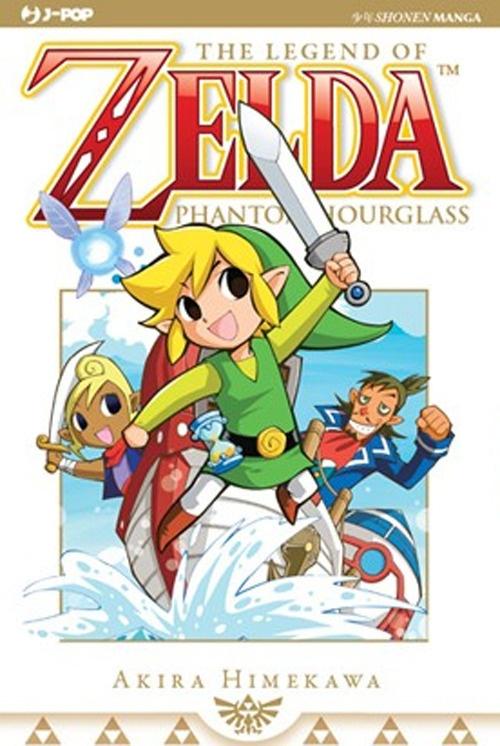 Phantom hourglass. The legend of Zelda.