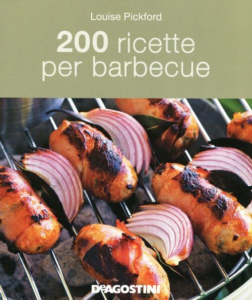 200 ricette per barbecue.