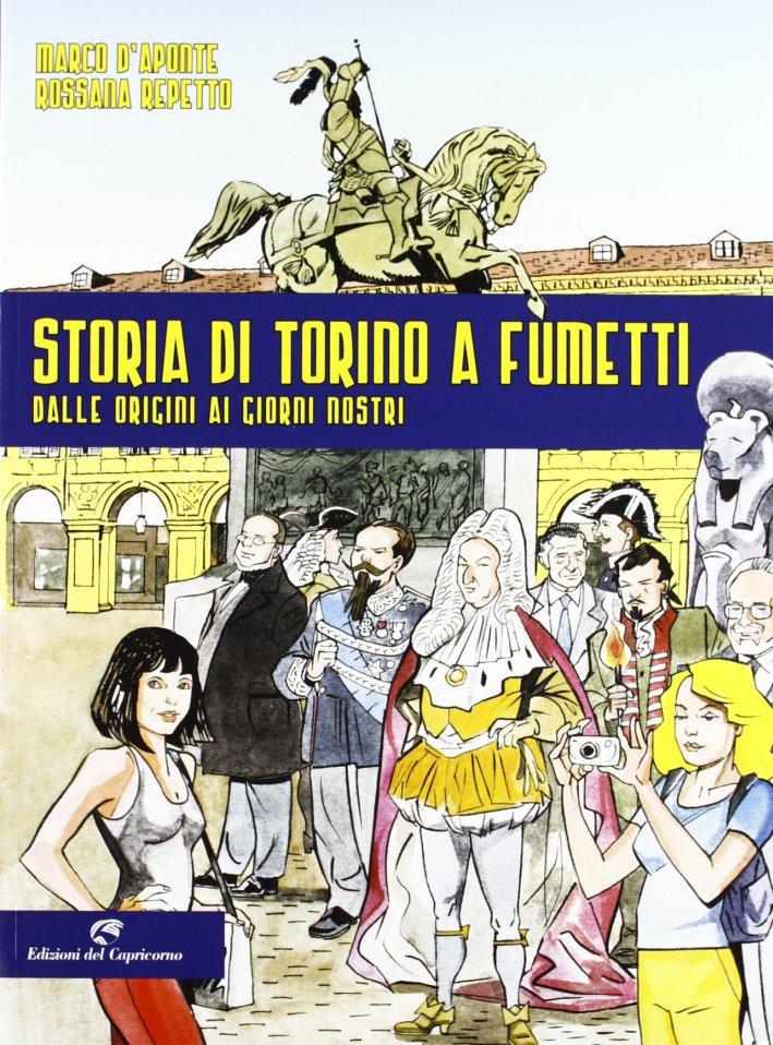 Storia di Torino a fumetti dalle origini ai nostri giorni