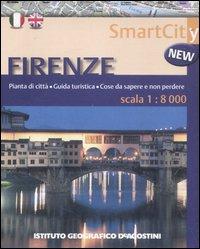 Firenze 1:8.000. Ediz. bilingue