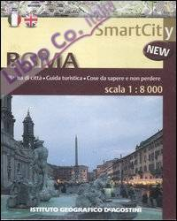 Roma 1:8.000. Ediz. bilingue