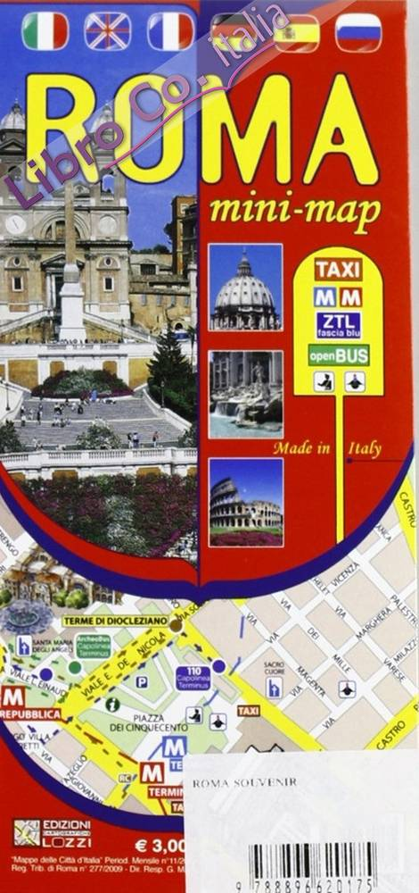 Roma. Mini guida. Mini map. Con video.