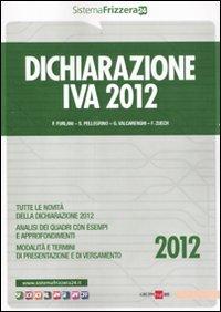 Dichiarazione Iva 2012.