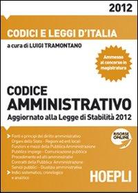 Codice amministrativo 2012