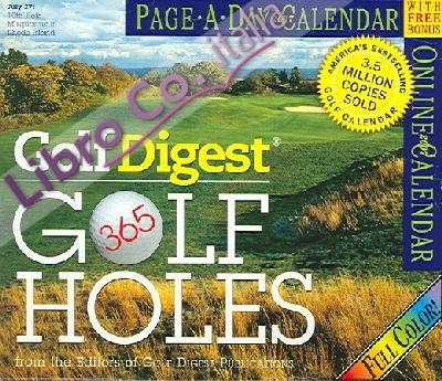 Golf Digest 365 Golf Holes Page-A-Day Calendar