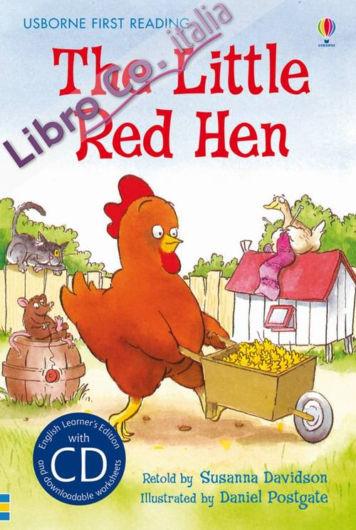 The little red hen. Con CD.