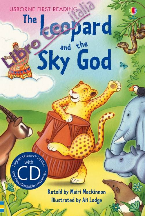 The leopard and the sky god. Con CD.