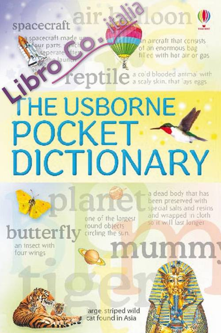 The Usborne pocket dictionary.