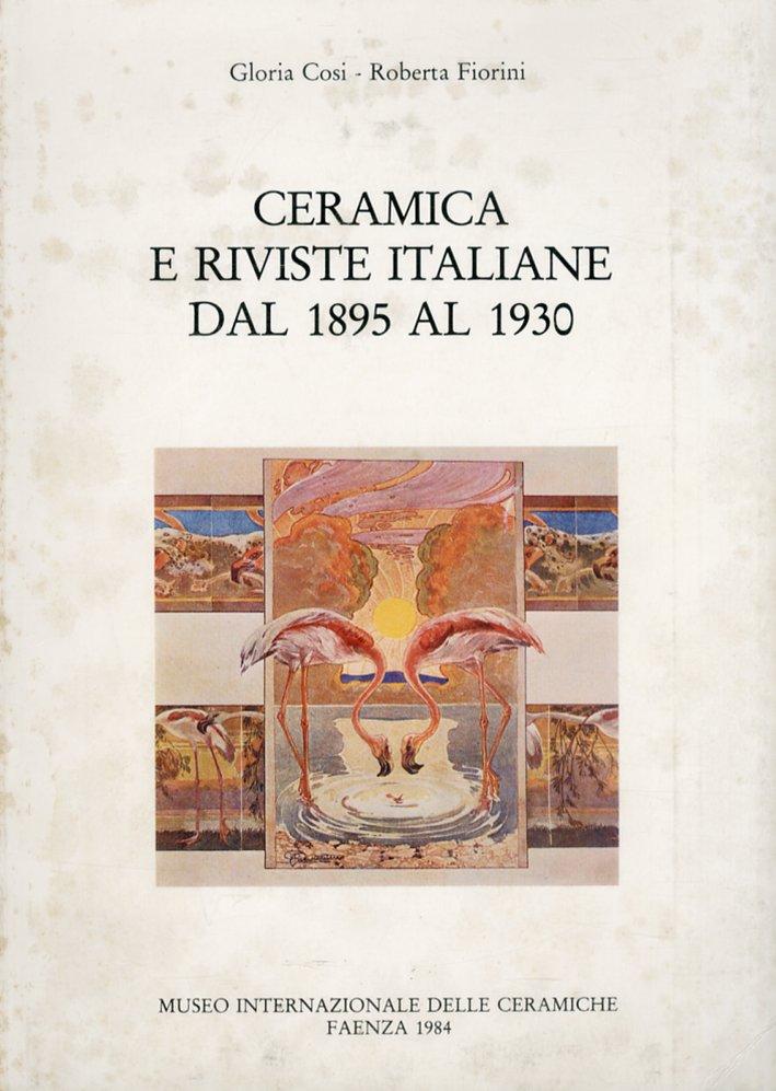 Ceramica e riviste italiane dal 1895 al 1930.