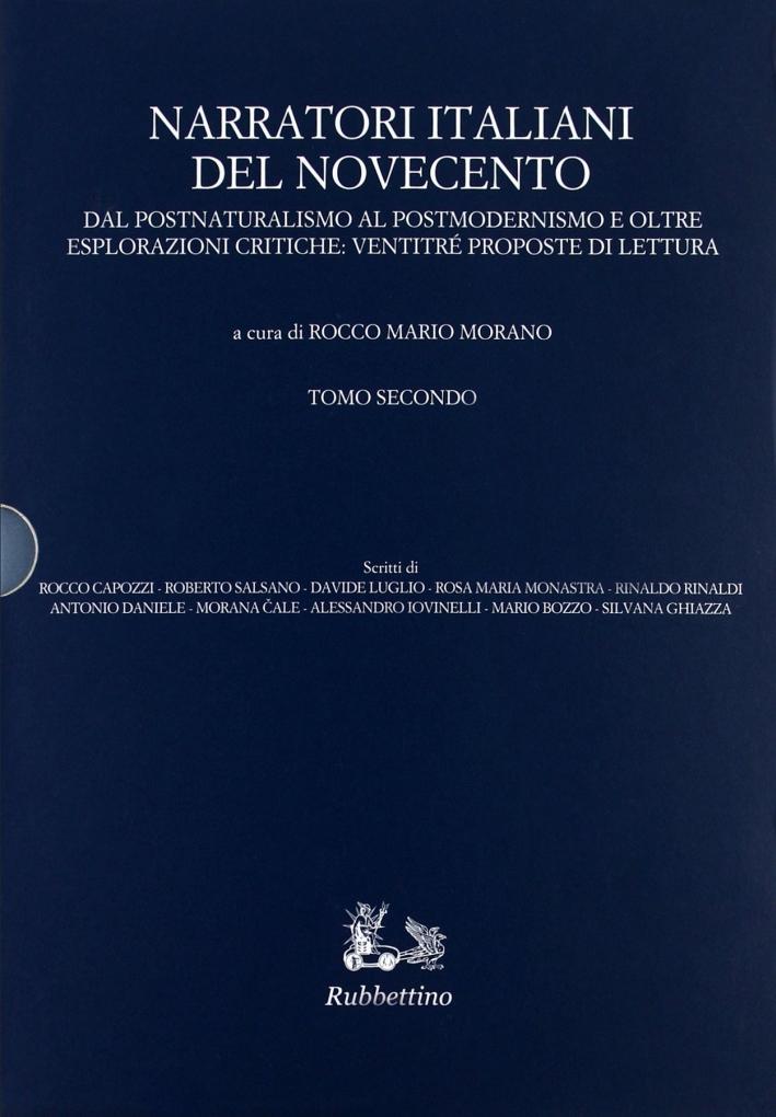 Narratori italiani del Novecento. Dal postnaturalismo al postmodernismo e oltre