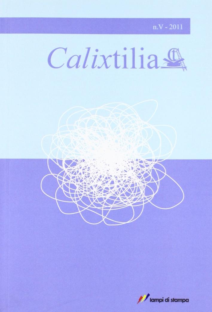 Calixtilia. Vol. 5