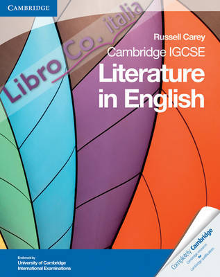 Cambridge IGCSE Literature in English.