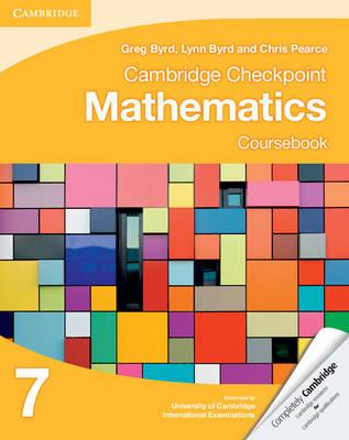 Cambridge Checkpoint Mathematics Coursebook 7.