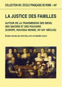La justice des familles.