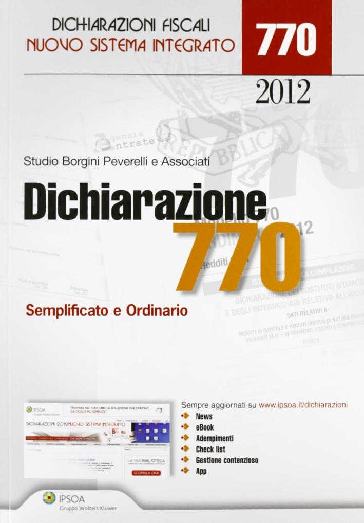 Dichiarazione 770