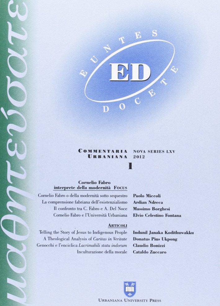 Euntes Docete (2012). Vol. 1.