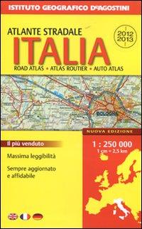 Atlante Stradale Italia 1:250.000 2012-2013
