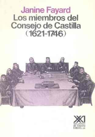 Miembros del consejo de castilla (1621-1746), los