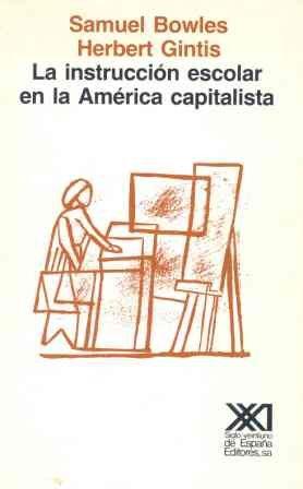 Instruccion escolar en la america capitalista, la