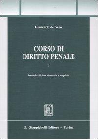 Corso di diritto penale. Vol. 1