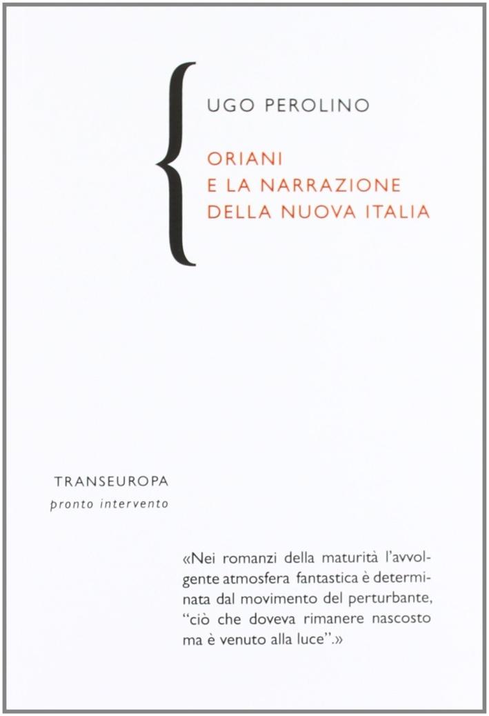Oriani e la narrazione della nuova Italia.