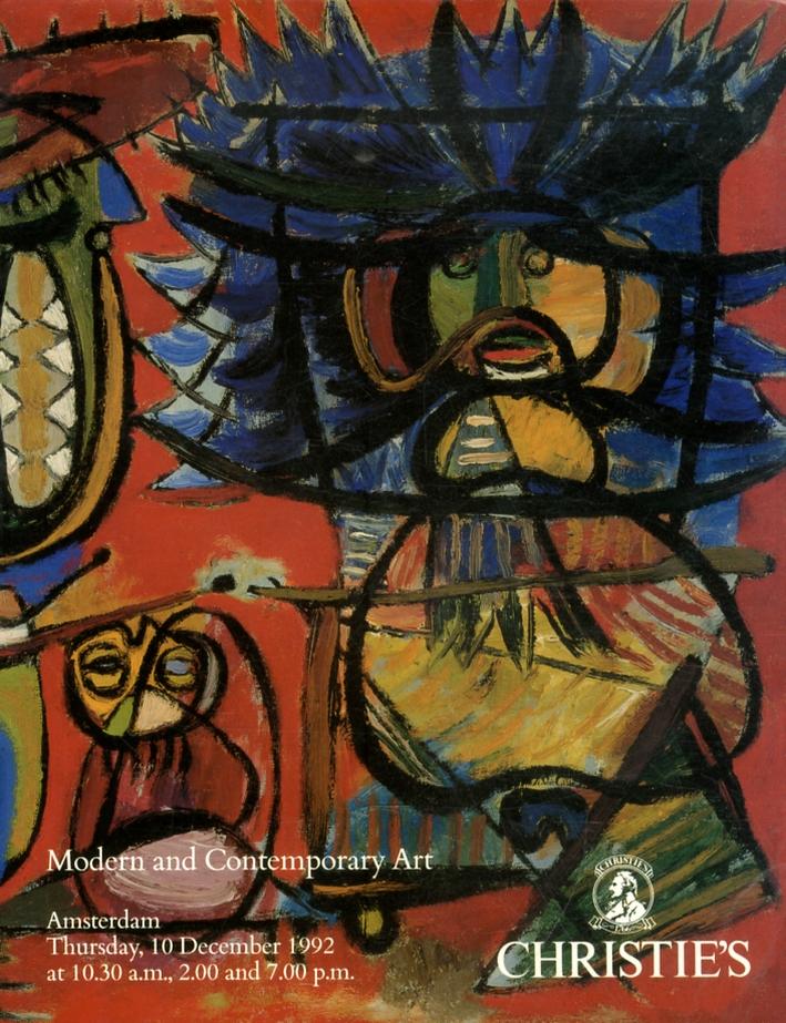 Modern and Contemporary Art. 10 December 1992.