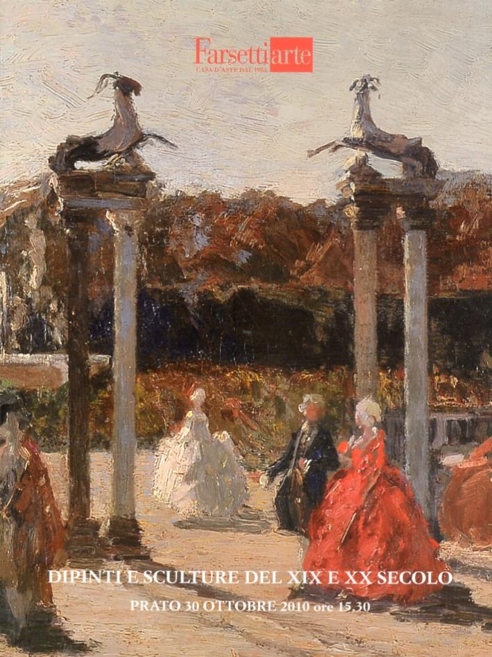 Dipinti e sculture del XIX e XX secolo. 30 Ottobre 2010. Asta 153 II
