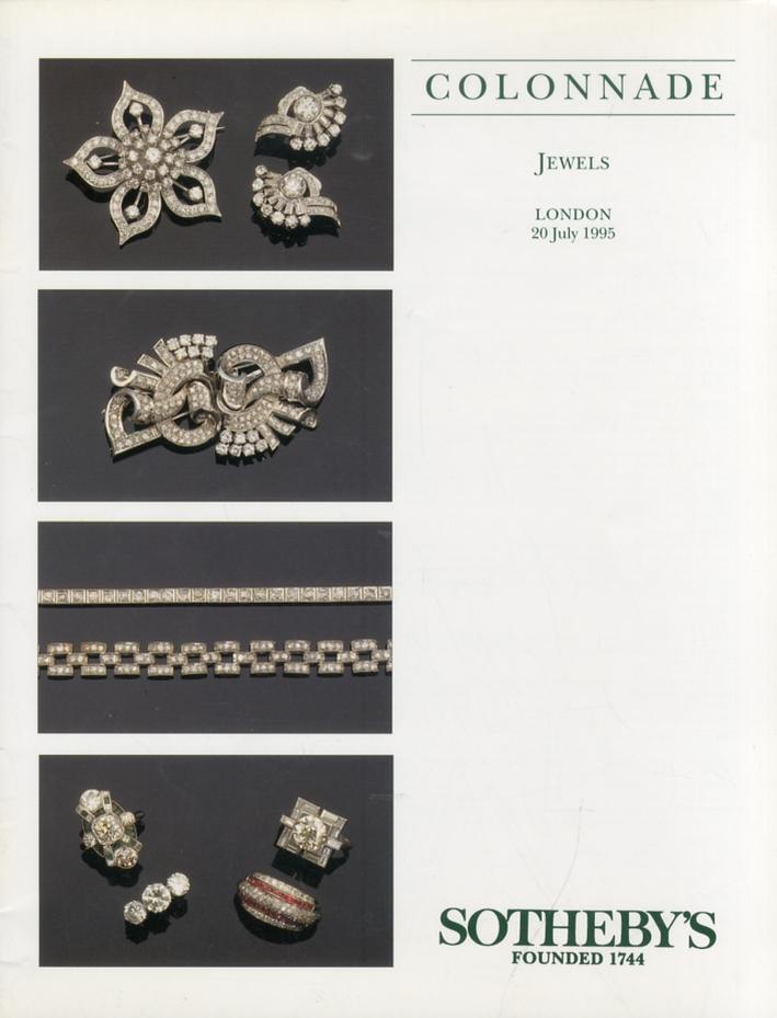 Jewels. 20 July 1995
