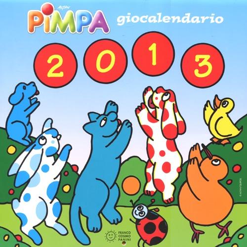 Pimpa 2013. Giocalendario. Con adesivi