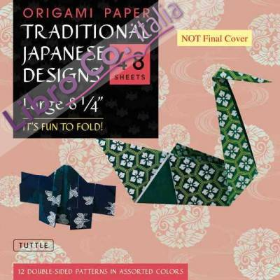 Origami Paper Traditional Japanese Designs Large.