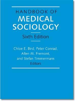 Handbook of Medical Sociology.