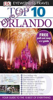 DK Eyewitness Top 10 Travel Guide: Orlando