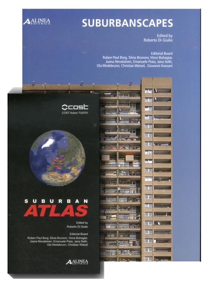 Suburbanscapes. Suburban Atlas. COST Action TU0701.