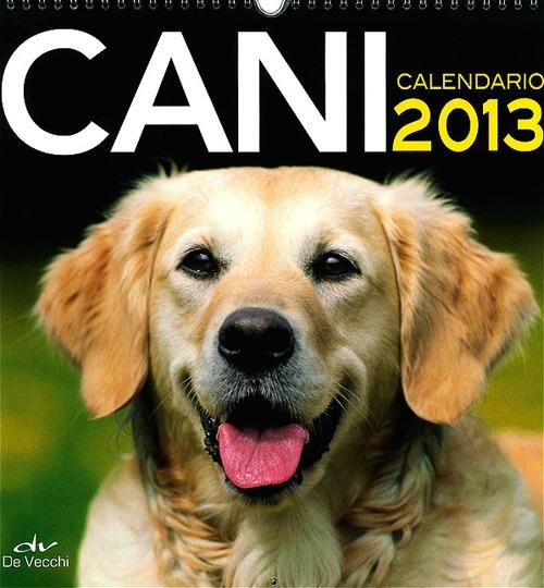 Cani. Calendario 2013.