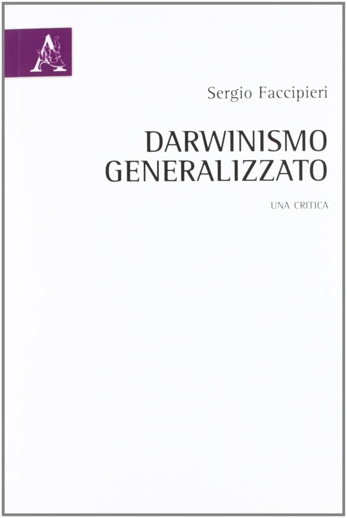 Darwinismo generalizzato. Una critica