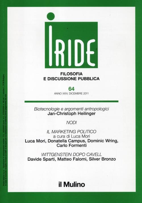 Iride (2011). Vol. 3