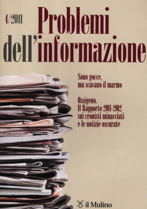 Problemi dell'informazione (2011). Vol. 4.