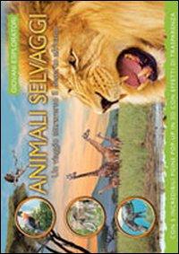 Animali selvaggi. Un viaggio attraverso il deserto africano. Libro pop-up. Ediz. illustrata