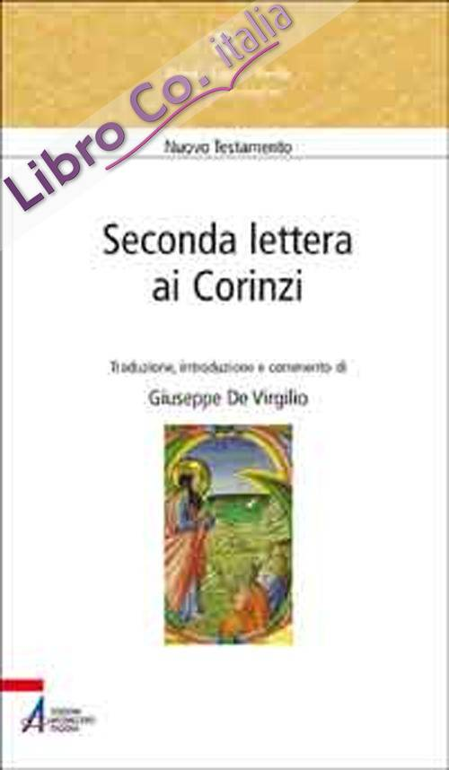 Seconda lettera ai Corinzi.