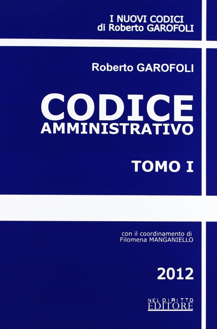 Codice amministrativo-Codice penale-Codice civile