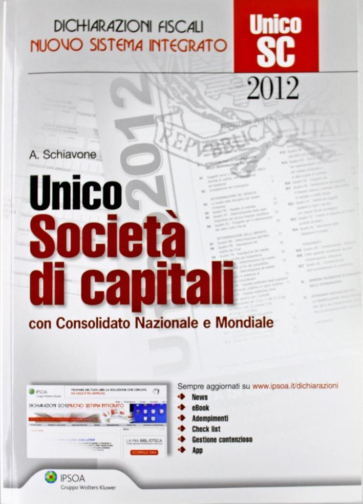 UNICO. Società di capitali