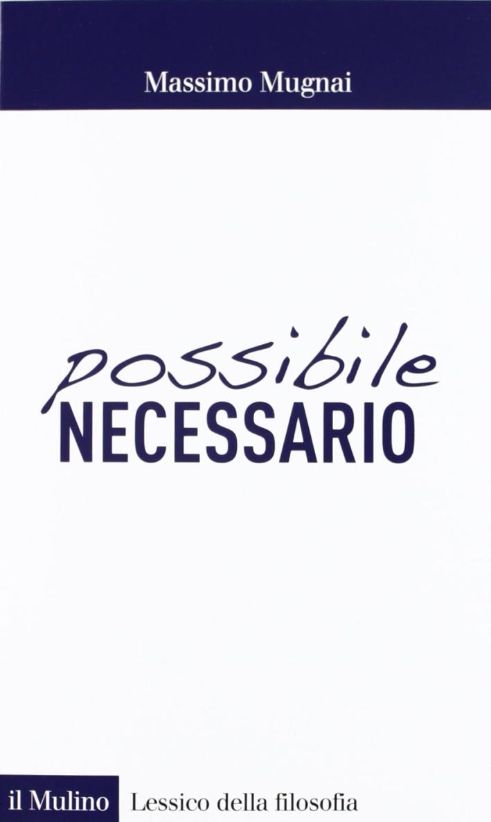 Possibile/necessario