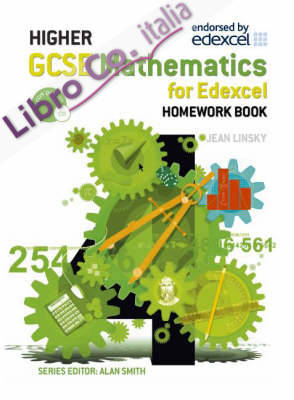 GCSE Maths Higher Homework Book.