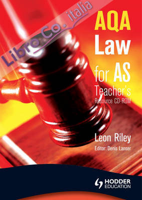 AQA Law for AS.