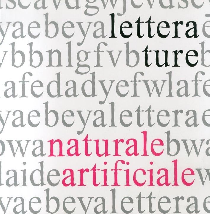 Letterature. Naturale, artificiale.