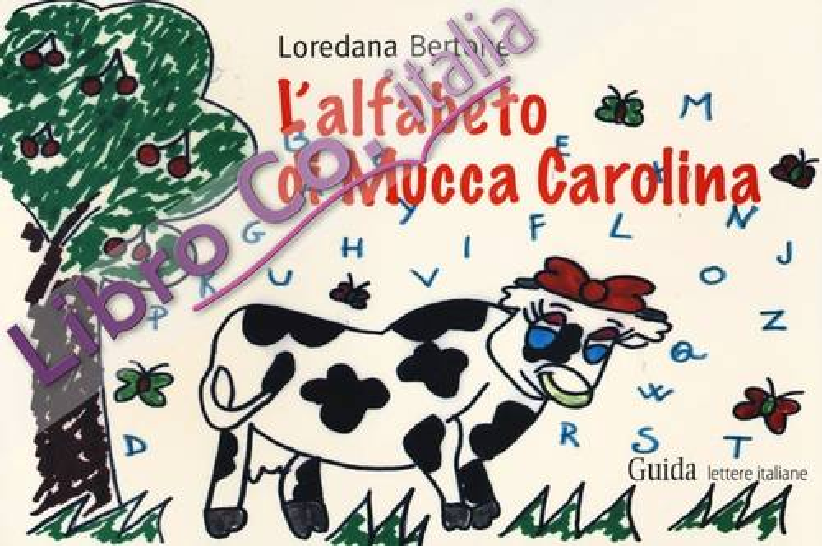 L'alfabeto di mucca Carolina.