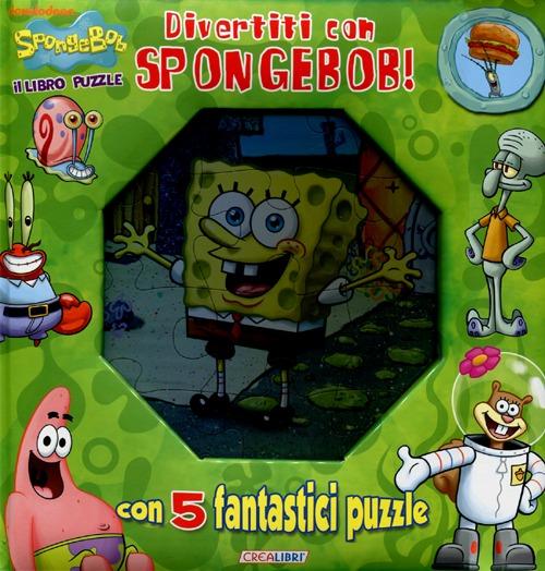 Divertiti con Spongebob! Libro Puzzle